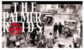 Palmer Raids 1920s